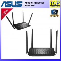 ASUS ROUTER (เราเตอร์)  RT-AC59U AC1500 DUAL BAND WI-FI ROUTER WITH MU-MIMO/BY TOP COMPUTER