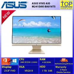 ASUS VIVO AIO M241DAK-BA016TS/RYZEN5/4GB/HDD 1TB/23.8 FHD/VEGA 8/WIN10+OFFICE 2019/BY TOP COMPUTER