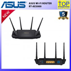 ASUS WI-FI ROUTER RT-AX3000/BY TOP COMPUTER